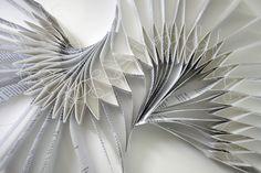 freshly folded and unfolded...
