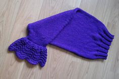 Mermaid Tail snuggy blanket in sparkly by BlueMarshHandKnits Knits, Hand Knitting, Purple, Blue, Mermaid, Blanket, Trending Outfits, Handmade Gifts, Etsy
