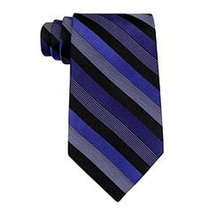 Exclusively ours! Punctuate your 9-to-5 look with this striped silk tie from John Bartlett Statements. $9.97 by Bon-Ton
