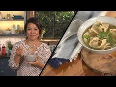 Easy Wonton Soup l Seonkyoung Longest Dinner Soup – Dinner Recipes Asian Recipes, New Recipes, Soup Recipes, Cooking Recipes, Ethnic Recipes, Asian Foods, Wonton Noodle Soup, Wonton Noodles, Chinese Cooking Wine