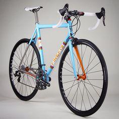 sweet titanium road bike we made for @joep721 - FIREFLY Ti  -->