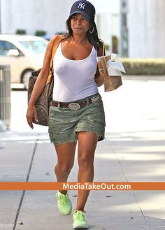 Nia Long. In my 40s, I hope to still be this gorgeous, fit, and chic too! #40s+Goals