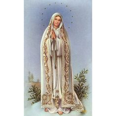 Our Lady of Fatima Personalized Prayer Card (Priced Per Card) Our Lady of Fatima prayer card. The backs of the cards are blank, so that they can be. Mother Mary Images, Images Of Mary, Fatima Prayer, Catholic Company, Lady Of Fatima, Prayer Cards, Our Lady, Saints, Prayers