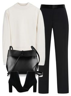 """""""Untitled #3954"""" by london-wanderlust ❤ liked on Polyvore featuring Wes Gordon, Acne Studios and Kara"""