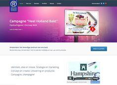 """#Webdesign """""""" verzorgd door #JochemAlbrecht door #Reclamebureau Holland"""