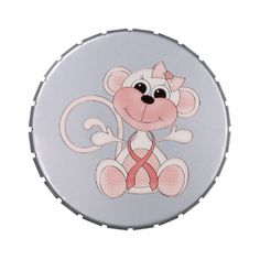 Breast Cancer awareness Candy Tin (Filled)