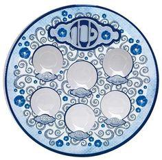 Printed Laminate Elegant Seder Plate with Plastic Liners by Rite Lite #Printed #Laminate #Elegant #Seder #Plate #with #Plastic #Liners #Rite #Lite
