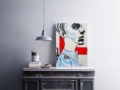 """""""Man""""  Temos quadros com moldura e vidro protetor e placas decorativas em MDF.  Visite nossa loja e conheça nossos diversos modelos.  Loja virtual: www.arteemposter.com.br  Facebook: fb.com/arteemposter  Instagram: instagram.com/rogergon1975  #placa #adesivo #poster #quadro #vidro #parede #moldura"""