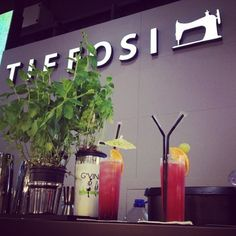 Cocktails @ TIFFOSI Stand in WHO'S NEXT Paris #tiffosi #tiffosidenim #tiffosikids #wsn14 #whosnext #whosnextparis #whosnext2014 #whosnext14 #paris #cocktails