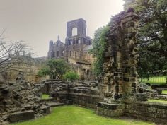 Leeds Kirkstall Abbey, so evocative. Yorkshire Dales, North Yorkshire, Dissolution Of The Monasteries, Leeds England, Leeds City, English Countryside, Abandoned Mansions, Great Britain, Monument Valley