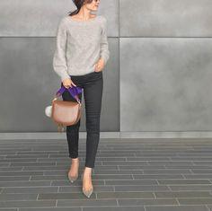 やっぱり頼れる♡「黒スキニー」11月のお手本コーデ12連発 - LOCARI(ロカリ) Knitting, Chic, Closet, Style, Fashion, Shabby Chic, Swag, Moda, Armoire