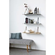 SUPPORT DORE POUR ETAGERE - HOUSE DOCTOR