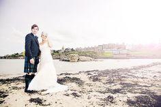 Summer wedding photography in Scotland