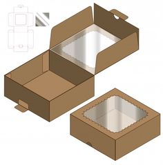 Find Box Packaging Die Cut Template Design stock images in HD and millions of other royalty-free stock photos, illustrations and vectors in the Shutterstock collection. Thousands of new, high-quality pictures added every day. Bakery Packaging, Box Packaging, Packaging Design, Diy Gift Box, Diy Box, Paper Box Template, 3d Modelle, Modern Restaurant, Vintage Logo Design