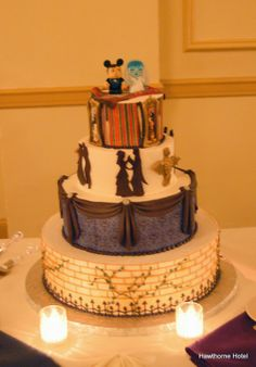 Weddings at the Hawthorne Hotel, Haunted Mansion at Disney-themed wedding