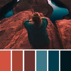 Color Schemes Colour Palettes, Colour Pallette, Fall Color Schemes, Autumn Color Palette, Rustic Color Palettes, Orange Color Palettes, Modern Color Schemes, Modern Color Palette, Color Trends