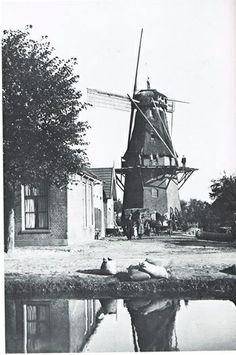 De Molen aan de van Echtenstraat jaren 30