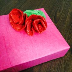 Recycled tissue paper