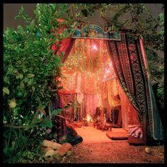 A beautiful sukkah.  OK I'd camp in here.