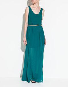Vestido transparencia  Zara  2012