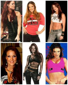 Wrestling Stars, Wrestling Divas, Women's Wrestling, Wwe Lita, Wwe Trish, Gorgeous Ladies Of Wrestling, Wwe Raw And Smackdown, Wwe Outfits, Wwe Female Wrestlers