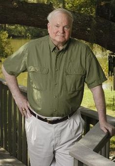 Pat Conroy  I've read all his books (some of them twice) and I've seen all the movies that were made from his books.   Love, love, love his writing!