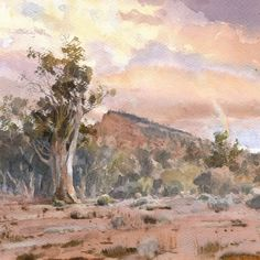 "Mike Kowalski on Instagram: """"Aroona Sentinal"" 18 x 13.5 watercolor. #watercolor #watercolorlandscapes #aquarelle #southaustralia"" South Australia, Watercolor, Landscape, Painting, Instagram, Art, Pen And Wash, Art Background, Watercolor Painting"