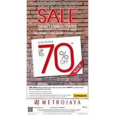 Metrojaya Seri Kembangan Warehouse Sale