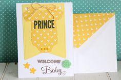 出産祝いのカードを作りました。 男の子用です♡ スタンプを押したり、カボションをつけてみました。封筒付きです! 出産したお友達や親戚の方に送ってください(*^...|ハンドメイド、手作り、手仕事品の通販・販売・購入ならCreema。
