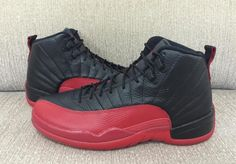 f2022c981838c7 Air Jordan 12 Flu Game Color Black Varsity Red Style Code 130690-