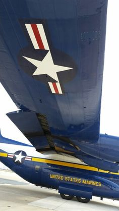 USN USMC Blue Angel Fat Albert C-130 under wing insignia marking photo by @roadstermark
