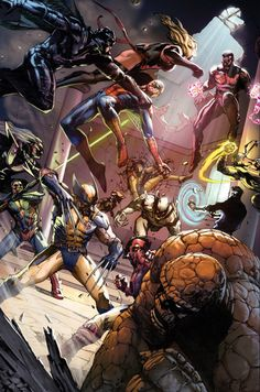 Avengers vs. Revengers by Gabriele Dell'Otto