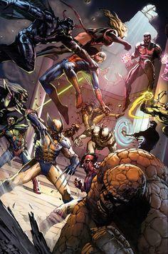 Avengers vs. Revengers by Gabriele Dell'Otto