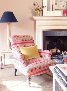 Our Ikat cotton is such a fun print, instantly adding a boho vibe to any space!