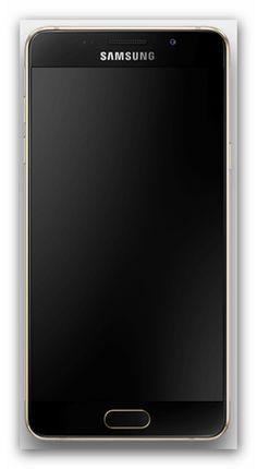 Samsung Galaxy A5 von vorne