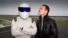 Top Gear - Michael Fassbender and Stig