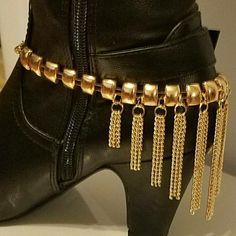1 Boot Or High Heel Shoe Chain, Anklet