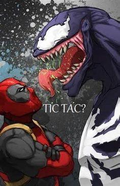 Lol only Deadpool