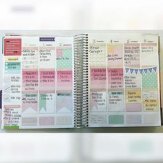 Earlier this month: not ready to give up my summertime color palettes! Full Boxes & Page Flags are made by me Etsy shops are tagged #eclp #erincondren #lifellanner #planner #agenda #planning #weeklyplanner #weeklylayout #plannerstickers #checklistboxes #homework #student #organized #planwithme #etsy #silhouettecameo #weekend #plannerjunkie #scrapbooking #quotes #summer #september by lifeinaplanner