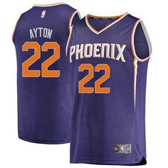 c074f5d7 Deandre Ayton Phoenix Suns Fanatics Branded Youth 2018 NBA Draft First  Round Pick Fast Break Replica Jersey Purple – Icon Edition