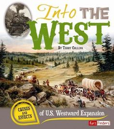 Westward Expansion Map of the USa  map Land Areas and