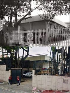 Dito, Noon: ABS-CBN along Mother Ignacia, Quezon City, 1986 x 2019 #kasaysayan -- When ABS-CBN reopened in 1986, the main entrance was along Mother Ignacia Street. The government station PTV-4 remained on the property until 1992, when the compound was finally returned to its rightful owners. Quezon City, Main Entrance, Present Day, Philippines, Pergola, Abs, Outdoor Structures, Street, Outdoor Decor