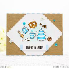 Dana G.Crafts: Studio Katia |Coffee Lovers Spring / Summer 2018 Blog Hop Day 8