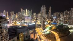 Panama City Timelaps