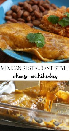 Mexican Restaurant Style Cheese Enchiladas with homemade gravy make this the perfect meal! Best Enchiladas, Mexican Enchiladas, Homemade Enchiladas, Cheese Enchiladas, Vegetarian Recipes, Cooking Recipes, Cooking Tips, Freezer Recipes, Freezer Cooking