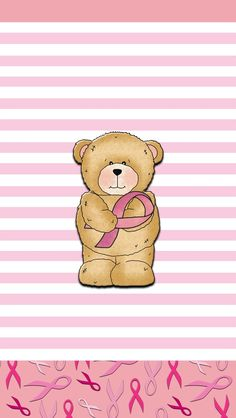 #Android #Beweather #BlackBerry #DroidliciousDiva #iPhone #Screenshots #UCCW #Walls Wallpaper For Your Phone, Bear Wallpaper, Phone Wallpapers, Cute Wallpapers, Wallpaper Backgrounds, Iphone Backgrounds, Pink October, Cute Teddy Bears, Good Cause