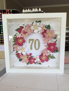Ribba Rahmen, Geburtstag,Stampin Up,Botanical Blooms,So viele Jahre,
