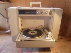 Vintage 1970s Magnavox Portable Stereo Record Player - Restored - AWESOME. $275.00, via Etsy.