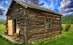 More than 200 year old cabin in Valjokha area in Finnmark, Northern Norway. The owner have created a private museum inside with items from his ancestors.