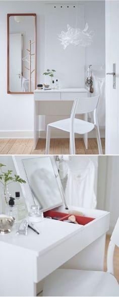 Room idea  Vanity  Dressing table